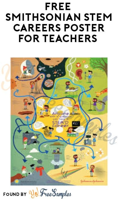 FREE Smithsonian STEM Careers Poster for Teachers