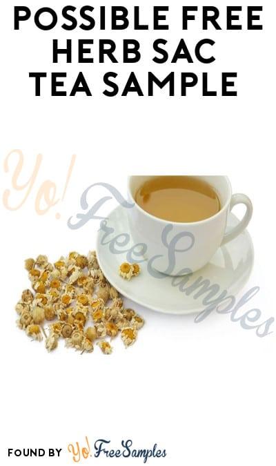 Possible FREE Herb Sac Tea Sample