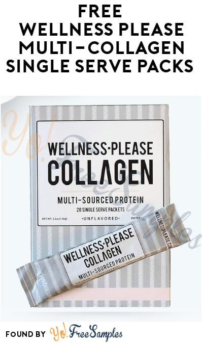 FREE Wellness Please Multi-Collagen Single Serve Packs
