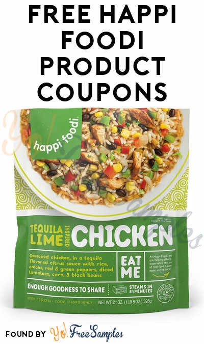 FREE Happi Foodi Product Coupons