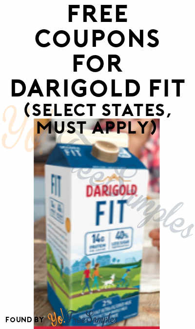 FREE Coupons For Darigold Fit (Select States, Must Apply)