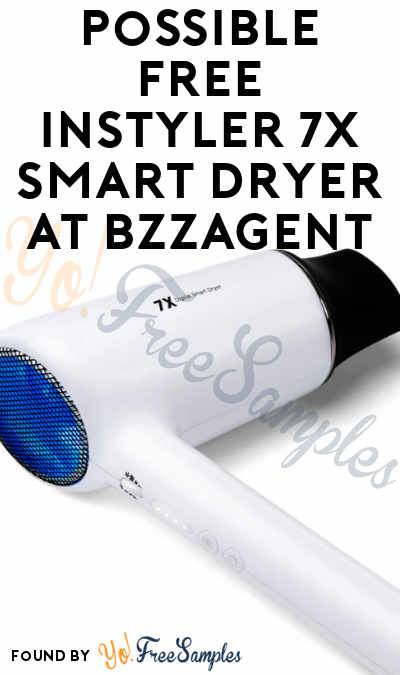 Possible FREE InStyler 7X Smart Dryer At BzzAgent