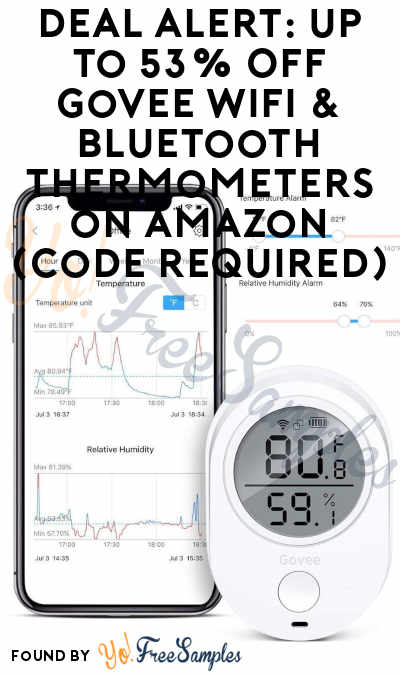 DEAL ALERT: Up To 53% Off Govee WiFi & Bluetooth Thermometers on Amazon (Code Required)