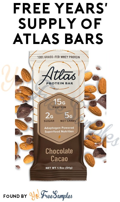 FREE Atlas Bars (Referring Required)
