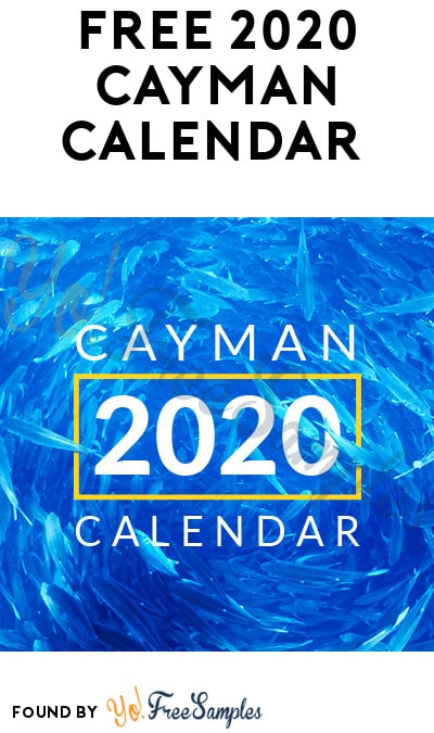 FREE 2020 Cayman Calendar (Institution Name Required)