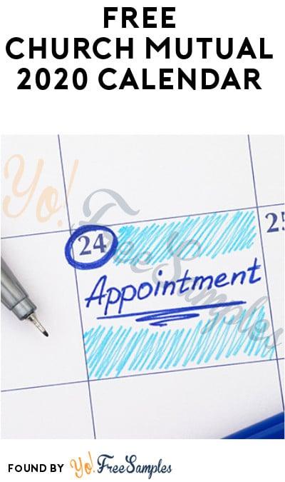 FREE Church Mutual 2020 Calendar (Account + Organization Name Required)