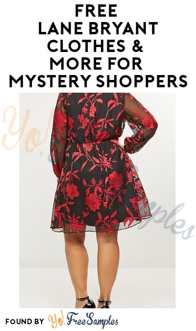 FREE Lane Bryant Clothes & More for Mystery Shoppers (Must Apply)