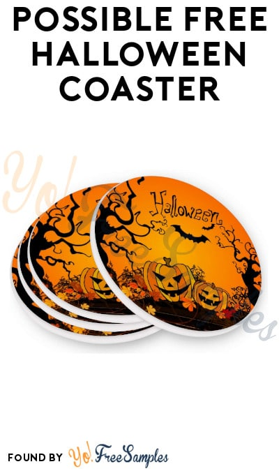 Possible FREE Halloween Coaster