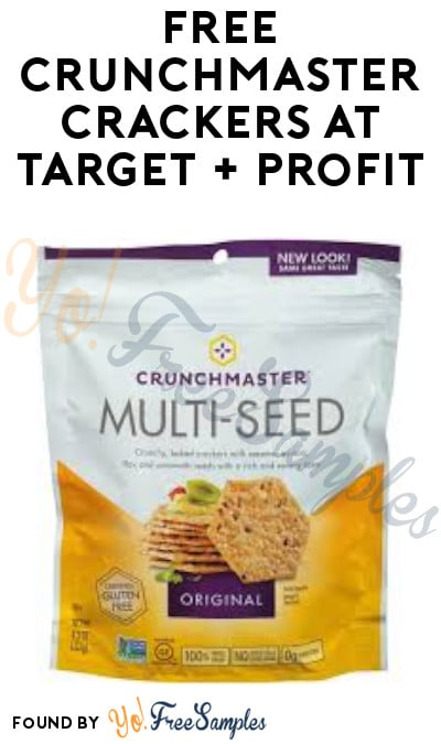 FREE Crunchmaster Crackers at Target + Profit (Ibotta, Checkout51 + Target Circle Required)