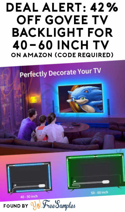DEAL ALERT: 42% Off Govee TV Backlight for 40-60 inch TV on Amazon (Code Required)