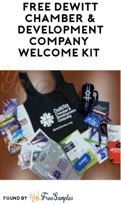 FREE DeWitt Chamber & Development Company Welcome Kit (Iowa Only)