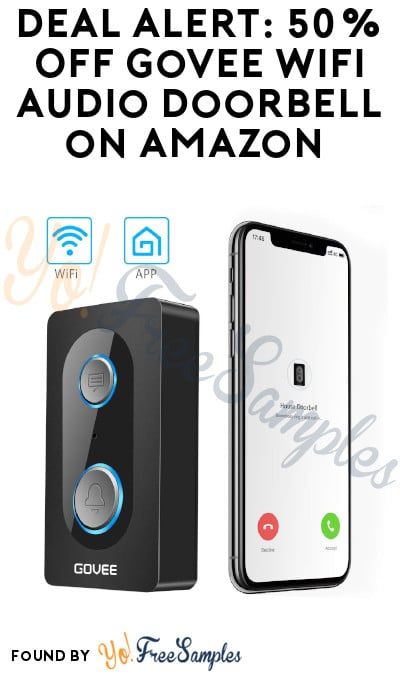 DEAL ALERT: 50% Off Govee WiFi Audio Doorbell on Amazon