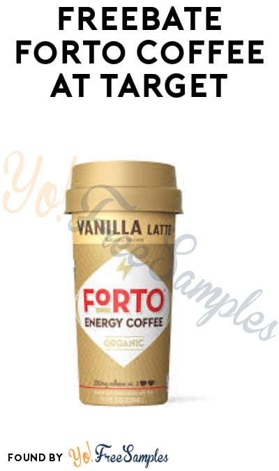 FREEBATE Forto Coffee at Target (Ibotta Required)