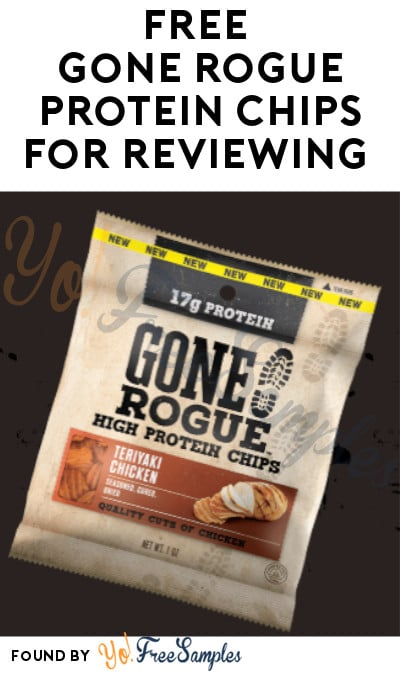 FREE Gone Rogue Protein Snacks for Reviewing (Must Apply)