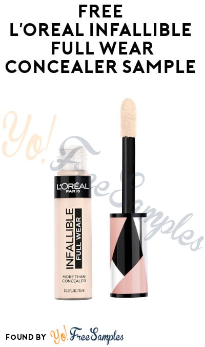 FREE L'Oreal Infallible Full Wear Concealer Sample