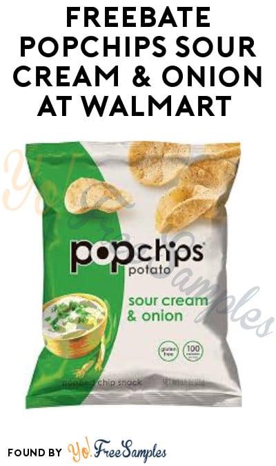 FREEBATE Popchips Sour Cream & Onion at Walmart (Ibotta Required)
