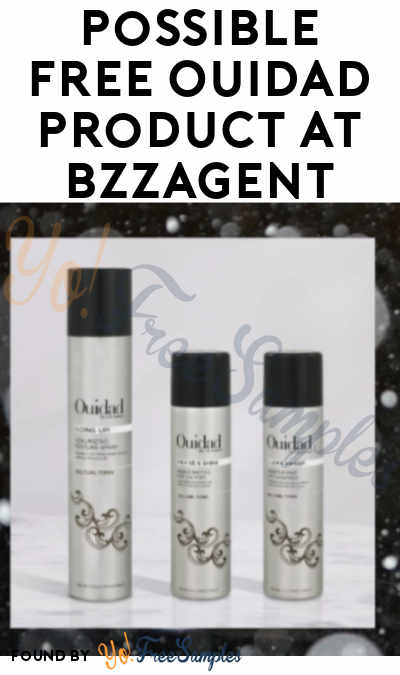 Possible FREE Ouidad Product At BzzAgent