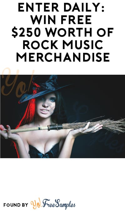 Enter Daily: Win FREE $250 worth of Rock Music Merchandise