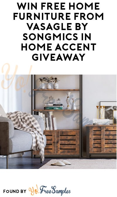 Win FREE Home Furniture from Vasagle by Songmics in Home Accent Giveaway