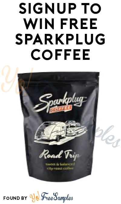 Win FREE Sparkplug Coffee!