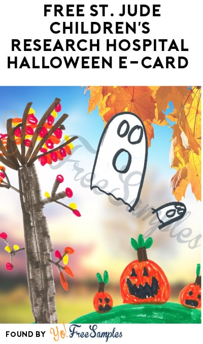 FREE St. Jude Children's Research Hospital Halloween E-Card