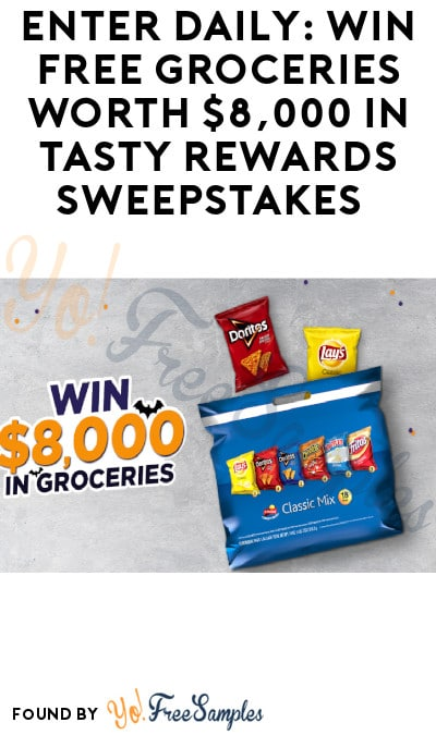 Enter Daily: Win FREE Groceries Worth $8,000 in Tasty Rewards Sweepstakes