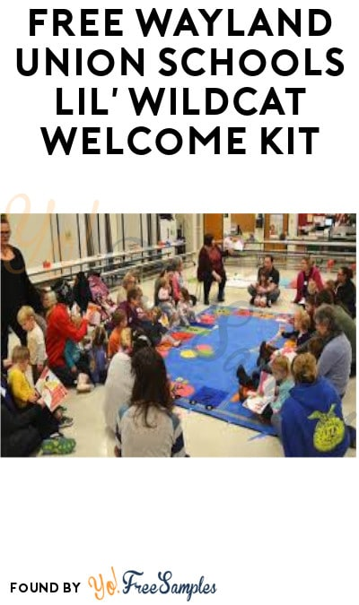 FREE Wayland Union Schools Lil' Wildcat Welcome Kit