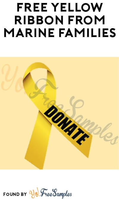 FREE Yellow Ribbon from Marine Families