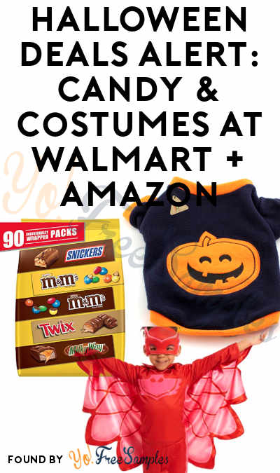 40+ HALLOWEEN DEALS: Candy, Costumes & Decor At Walmart + Amazon
