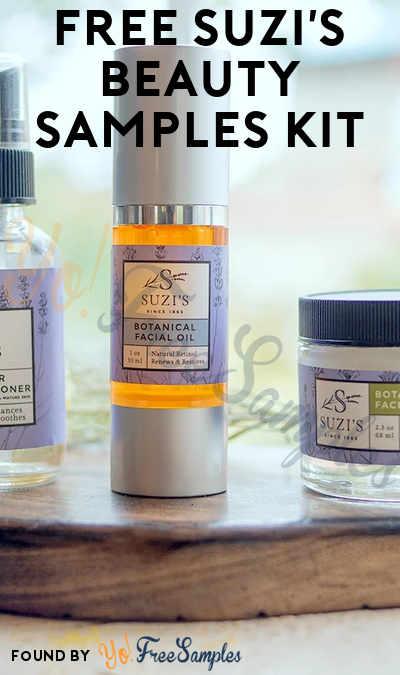 FREE Suzi's Botanical Beauty Sample Kit