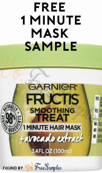 FREE Garnier Fructis Treat Hair Mask Sample [Verified Received By Mail]