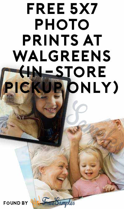 5 FREE 5×7 Photo Prints At Walgreens (App Only & In-Store Pickup Only)