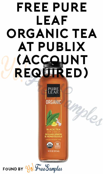 FREE Pure Leaf Organic Tea at Publix (Account Required)
