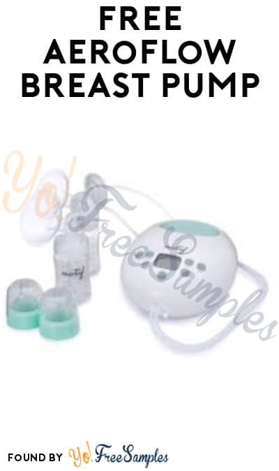 FREE Aeroflow Breast Pump (Insurance Required)
