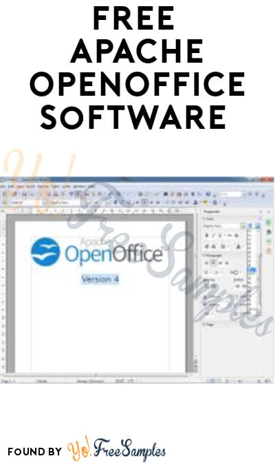 FREE Apache OpenOffice Software