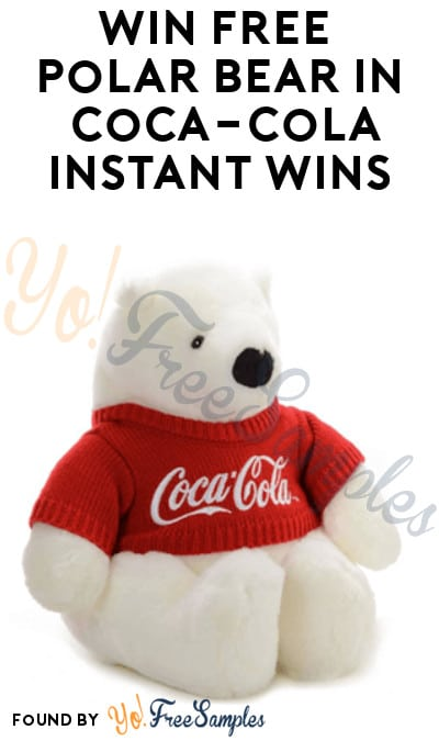 Enter Daily: Win FREE Polar Bear in Coca-Cola Instant Win Game