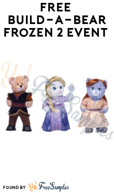 FREE Build-a-Bear Frozen 2 Event