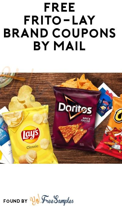 FREE Frito-Lay Brand Coupons by Mail