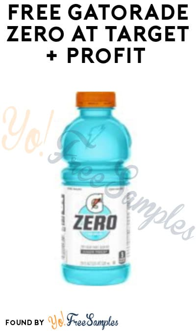 FREE Gatorade Zero at Target + Profit (Fetch Rewards Required)