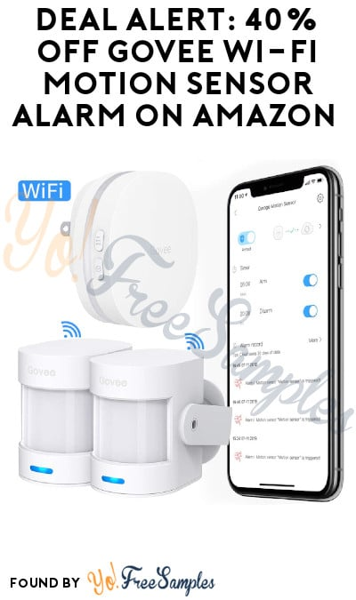 DEAL ALERT: 40% Off Govee Wi-Fi Motion Sensor Alarm on Amazon (Code Required)
