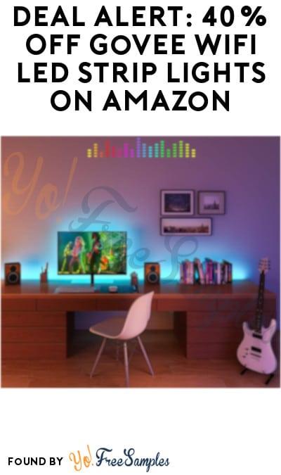 DEAL ALERT: 40% Off Govee WiFi Smart LED Strip Lights On Amazon