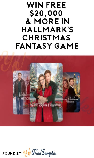 Win FREE $20,000 & More in Hallmark's Christmas Fantasy Game