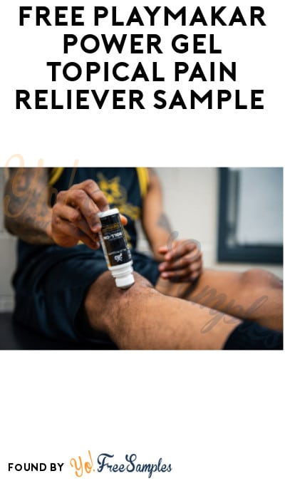 3 FREE PlayMakar Pain Reliever Samples [Verified Received By Mail]