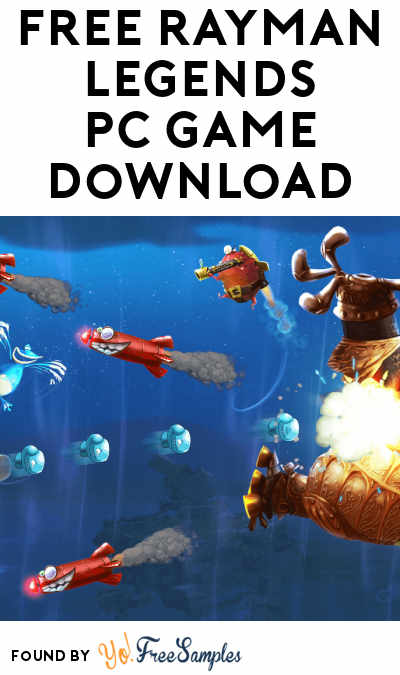 FREE Rayman Legends PC Game Download ($29.99 Normally)