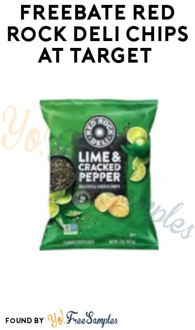 FREEBATE Red Rock Deli Chips at Target (Fetch Rewards Required)