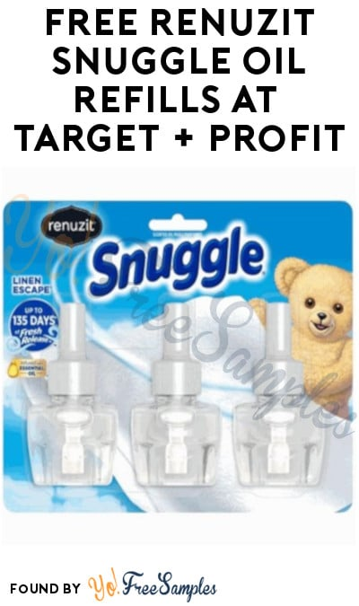 FREE Renuzit Snuggle Oil Refills at Target + Profit (Target Circle & Ibotta Required)