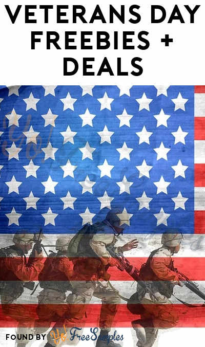 100 Veterans Day 2020 Freebies & Deals