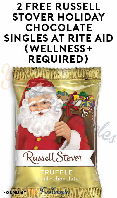 2 FREE Russell Stover Holiday Chocolate Singles At Rite Aid (Wellness+ Required)