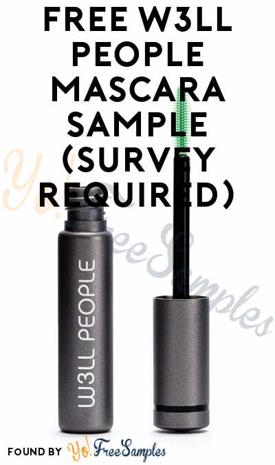 FREE W3LL PEOPLE Mascara Sample (Survey Required)