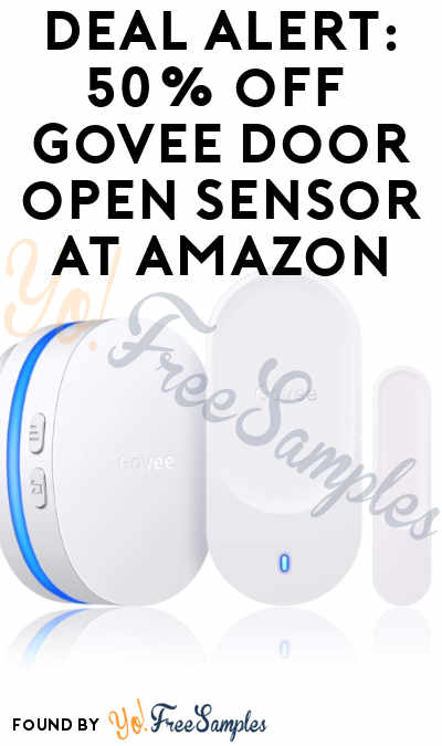 DEAL ALERT: 50% Off Govee Wireless Door Open Sensor on Amazon